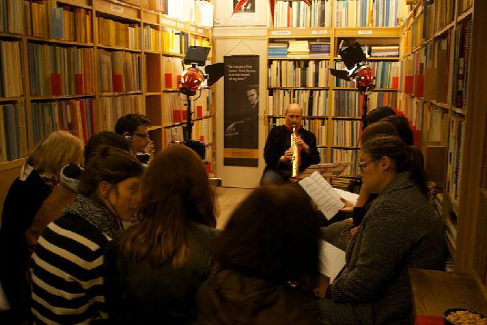 Librairie musical
